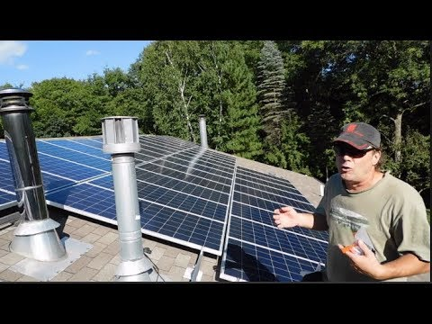 DIY Installing a Solar System on Green Energy Adventures with the Turbine  Guy