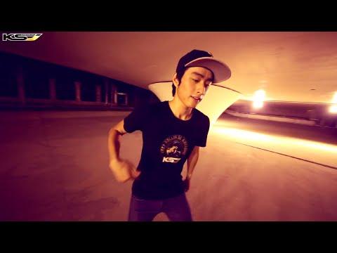 "Freestyle Skating - Slalom & Dance : ""Fantastic Baby"" by KSJ"