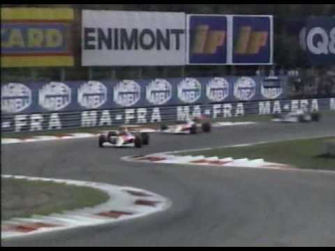 1990 F1 Grand Prix Monza Italy - Round 12 Full Race Part 2