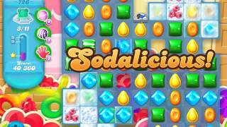 Candy Crush Soda Saga Level 726 (11 bears)