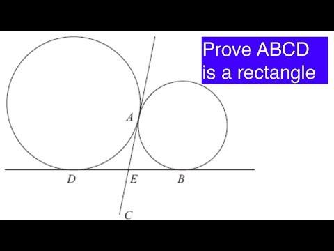 A Geometry Problem