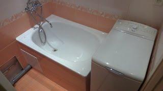 Repairs in the bathroom. Ремонт в ванной комнате. Обзор.