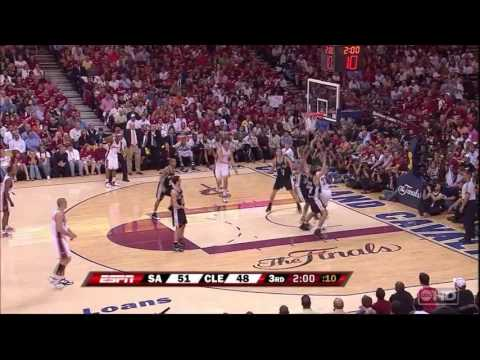 2007 NBA Finals Game 3 Spurs vs Cavaliers Full Game Highlights