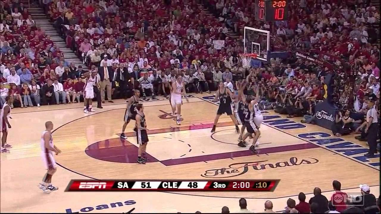2007 Nba Finals Game 3 Spurs Vs Cavaliers Full Game Highlights Youtube