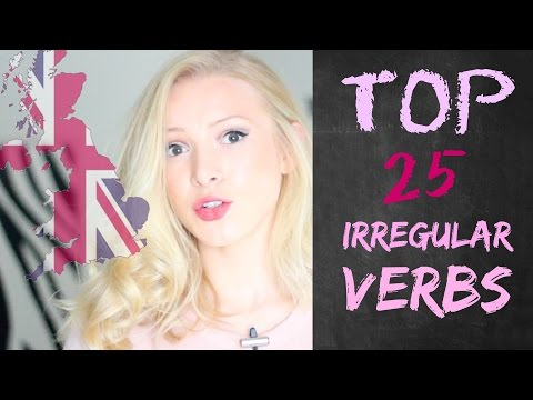 How to Pronounce the Irregular Verbs in British Accent| British English Pronunciation