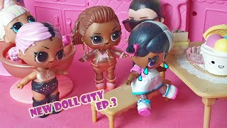 Due bulle in città 😡 [New Doll City 🏡 Ep. 3]