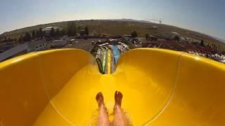 В аквапарке на самой большой горке(аквапарк Несебр Снято на GoPro., 2012-07-21T13:13:43.000Z)