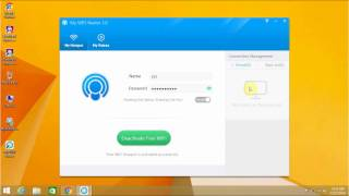 make your pc into wifi hotspot by mhotspot