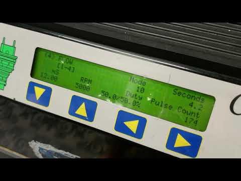 Deatschwerks 750cc WRX fuel injector testing