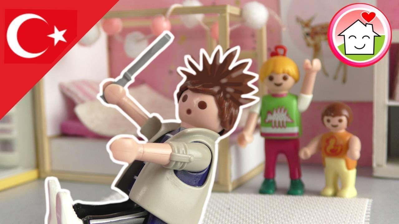 Playmobil Türkçe Yeni Çocuk Odasında Kargaşa - Hauser Ailesi - Çocuk filmi
