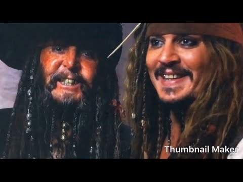 Pirates Of The Caribbean 5 Uncle Jack Behind The Scenes Youtube