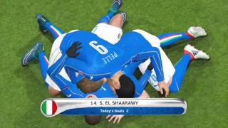 Italy  V Sweden Euro 2016 PES 2016 PS4
