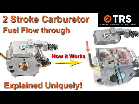 How A Carburettor Works/All Inside Fully Explained/STIHL/Two Stroke/Help Fix Your Own/Save Money