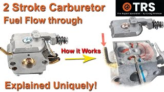 How A Two Cycle Carburettor Works/All Inside Fully Explained/STIHL/Ryobi/McCulloch/Husqvarna/