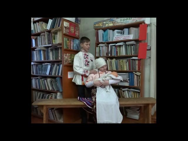 Изображение предпросмотра прочтения – «Кирилл и Александра» читают произведение «Казачья колыбельная песня» М.Ю.Лермонтова
