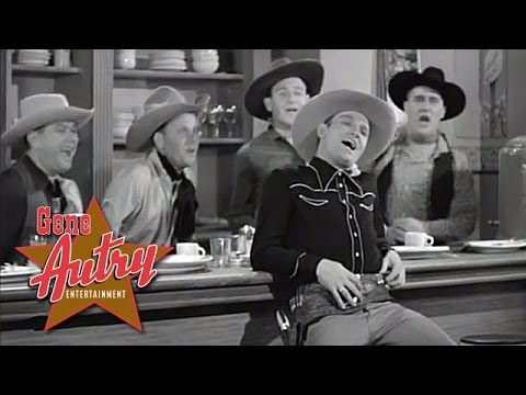 Gene Autry - If You Want to Be a Cowboy (from Git Along Little Dogies 1937)