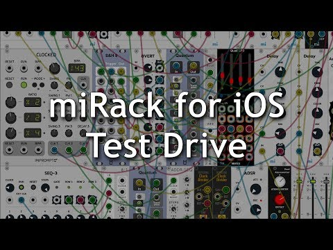 miRack for iOS Test Drive