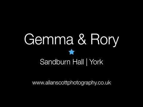 Sandburn Hall Wedding Photography | Gemma & Rory