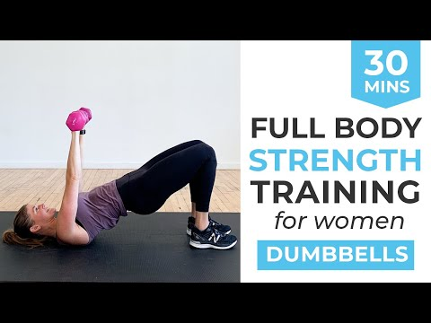 30-Minute Workout: Full Body Strength Training For Women | Strength Workout with Dumbbells At Home