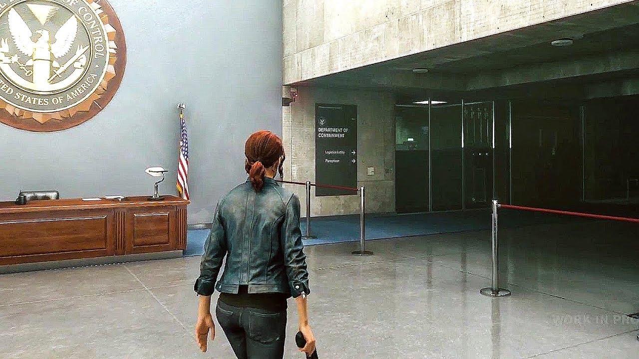 CONTROL - E3 2018 Gameplay Demo - YouTube