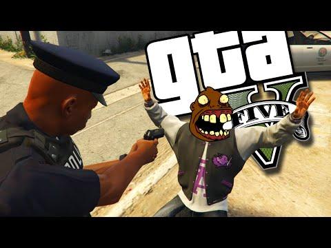 Cê Prende e Zoa? - GTA V PC MOD de Policia Parte 2