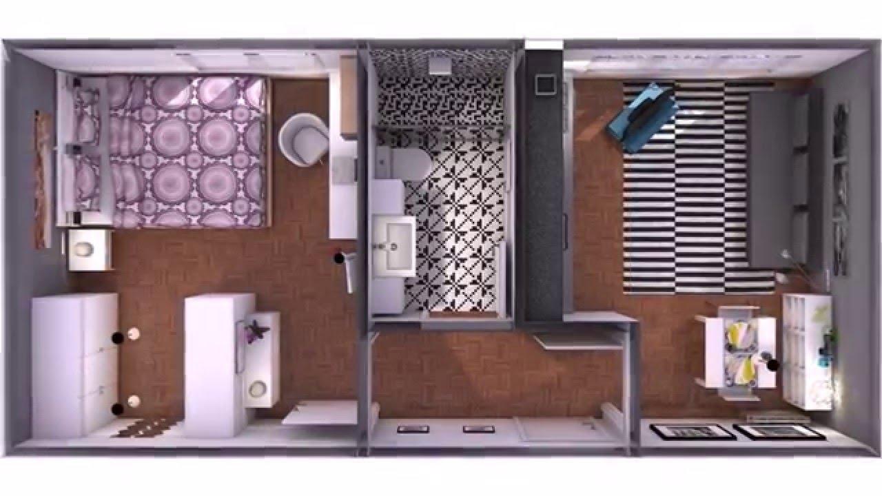 Minipiso 32m2 Barato De Decorar Con Ikea Youtube
