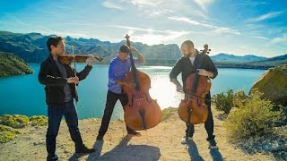 Download Wake Me Up - Avicii (violin/cello/bass cover) - Simply Three Mp3 and Videos