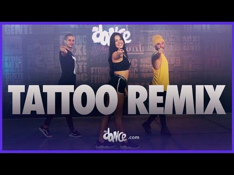 Tattoo Remix – Rauw Alejando, Camilo | FitDance Life (Official Choreography) | Dance Video