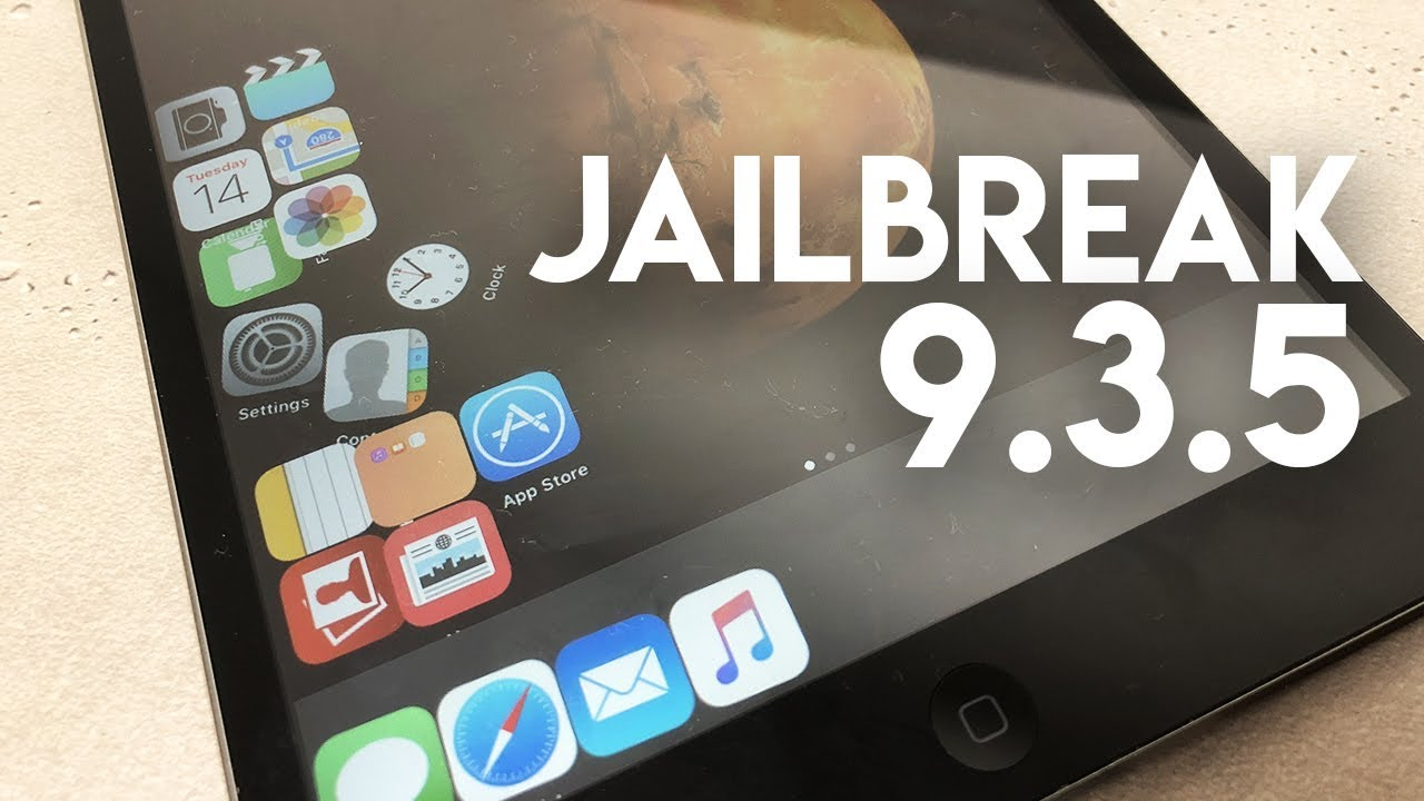 How to Jailbreak iOS 9 3 5 - 2018