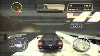"""Need for Speed Most Wanted part/4 THE BIG END """"How to avoid Cops"""""""