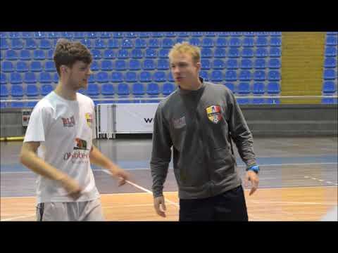 Treino do Blumenau Futsal