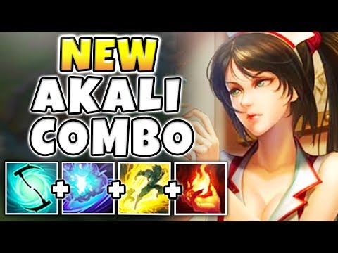 ABUSING A NEW AKALI MECHANIC! NEW KILL COMBO WITHOUT ULT!! - Unranked To Rank 1