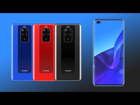 Huawei Mate 30 Pro: Konzeptvideo zeigt Smartphone mit Dual-Frontkamera