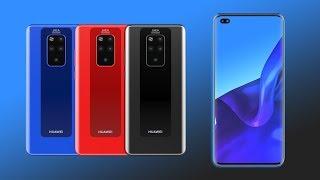 Huawei Mate 30 Pro سيأتي مع شاشة تمتاز بمعدل تحديث يبلغ 90Hz، وأربع كاميرات في الخلف - إلكتروني