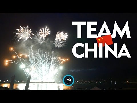 Celebration of Lights 2015 - Vancouver - TEAM CHINA