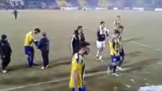 Így ünnepelték a mezőkövesdi szurkolók a DVTK legyőzését