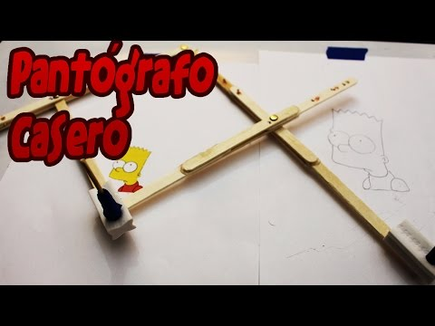 Pantógrafo casero │ Ampliador de dibujos