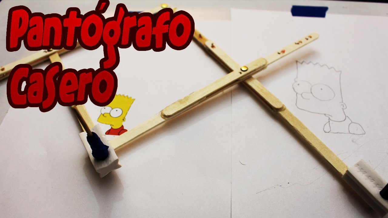 Pant grafo casero ampliador de dibujos youtube - Como hacer un toldo casero ...