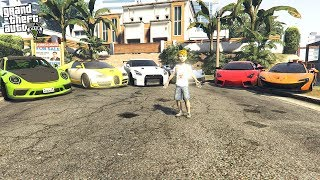RICH 10 YEAR OLD GIVES A FULL TOUR OF HIS CARS!!! (GTA 5 REAL LIFE PC MOD)