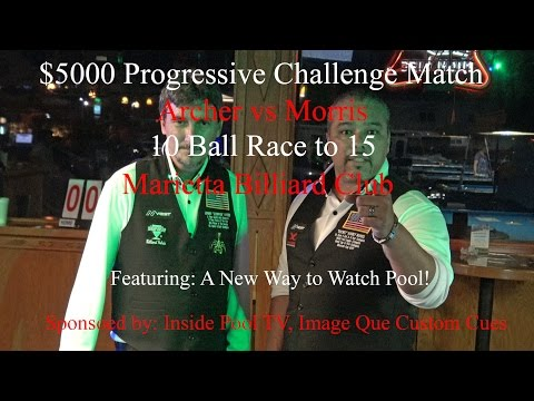 Johnny Archer vs Rodney Morris Progressive Challenge Match 4-26-2016 in 4K