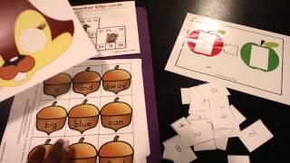 Free PreK  Kindergarten Learning Printables