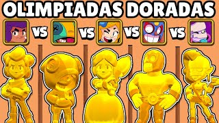 WHAT IS THE BEST GOLD BRAWLER? The | GOLDEN OLYMPICS | NEW GOLDEN SKINS BRAWL STARS