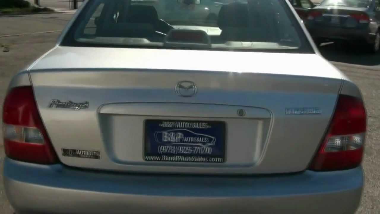 2002 mazda protege lx sedan - youtube