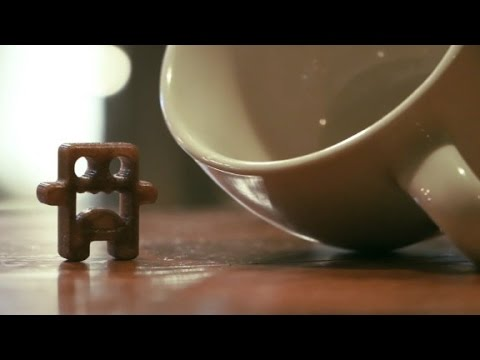 Have your coffee and 3D print it too