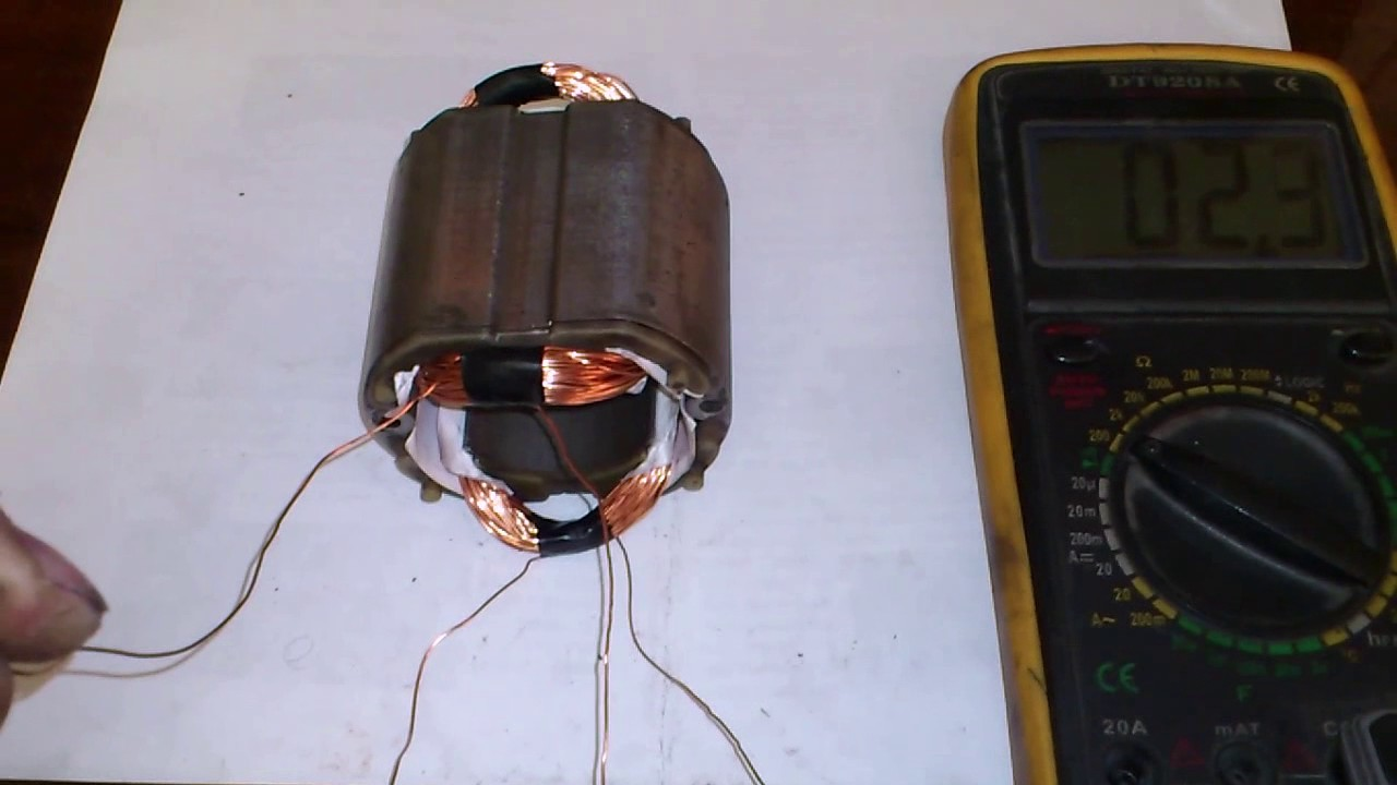 Как перемотать электродвигатель своими руками