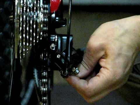 5.Настройка заднего переключателя