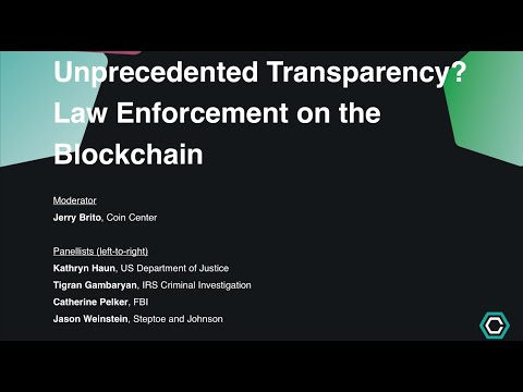 Law Enforcement on the Blockchain - Consensus 2015