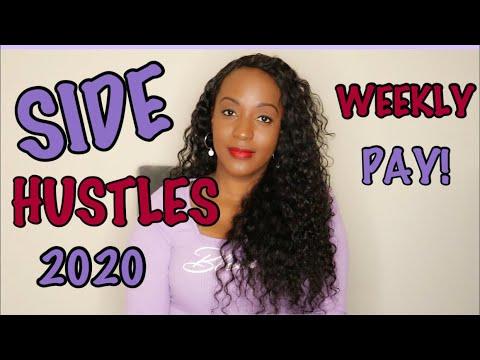 5 Side Hustles That Pay WEEKLY (or sooner) In 2020