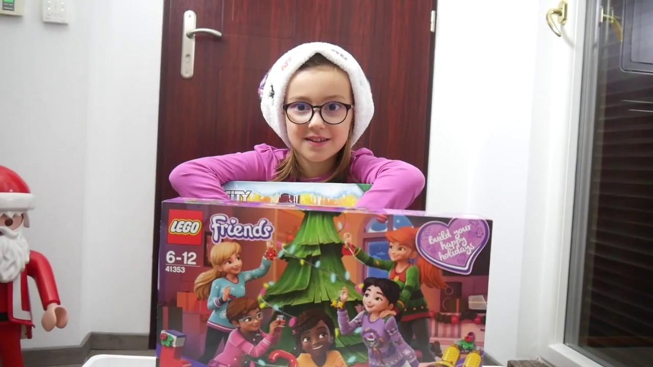 Lego Friends Calendrier De L Avent.Ca Y Est C Est Deja Noel Avec Le Calendrier De L Avent Lego City Et Friends 2018 Team Caps Family