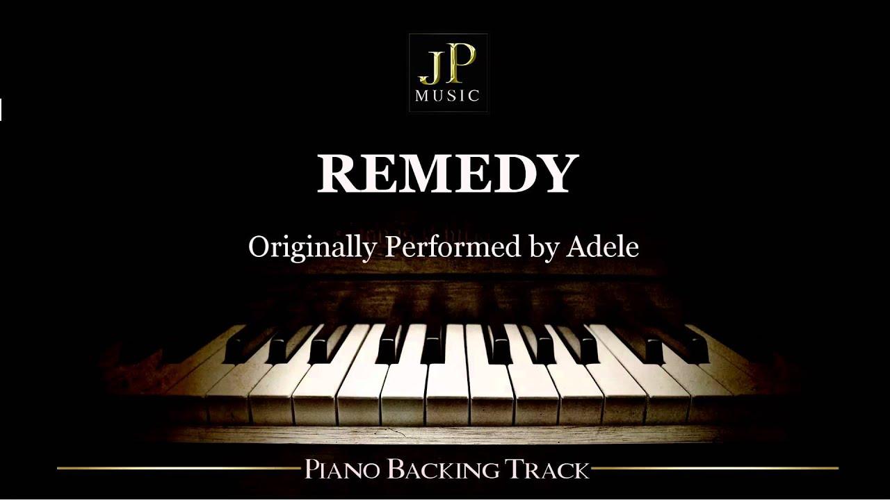 Remedy By Adele Piano Accompaniment